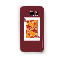 King of Hearts Playing Card Samsung Galaxy Case/Skin