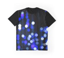 Shimmering Blue Graphic T-Shirt