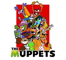 The Muppets Cartoon Photographic Print