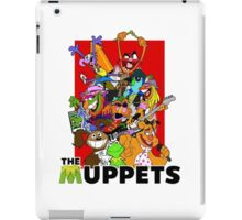 The Muppets Cartoon iPad Case/Skin
