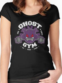 Ghost Gym Women's Fitted Scoop T-Shirt