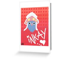 Pokemon X/Y Cute Crayon Inkay Greeting Card