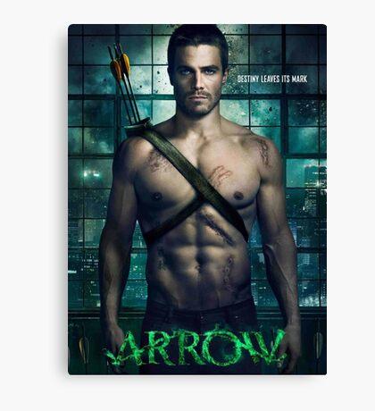 Arrow TV Series Canvas Print