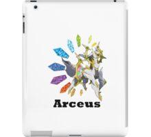 Arceus - Pokemon go !!!! iPad Case/Skin