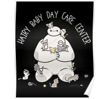 Hairy Baby Day Care center Poster