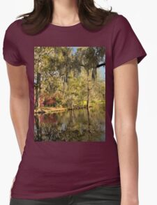Magnolia Gardens - Charleston, SC Womens Fitted T-Shirt