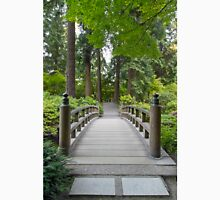 Foot Bridge at Japanese Garden Unisex T-Shirt