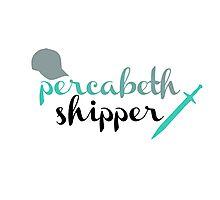 Percabeth Shipper Photographic Print