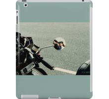 MOTORCYCLE TOURING WITH MY HONEY iPad Case/Skin