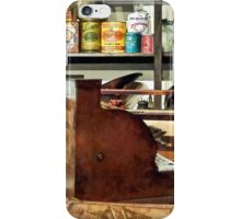 Wooden Cash Register in General Store iPhone Case/Skin