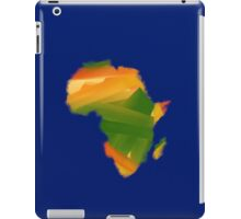 Geography of Africa iPad Case/Skin