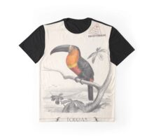 Toucan Bird Responsible Travel Art Graphic T-Shirt