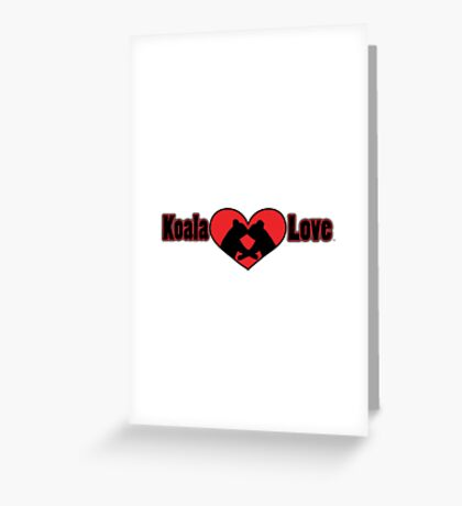 Koala Love #2 Greeting Card