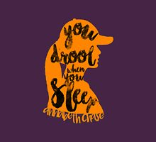 """Percy Jackson Quote """"You Drool When You Sleep"""" Unisex T-Shirt"""