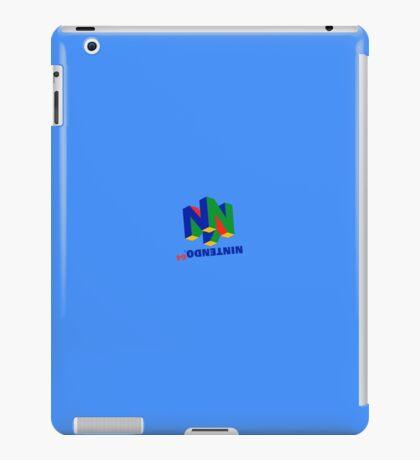Nintendo Upside Down iPad Case/Skin