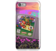 Super Mario 64 iPhone Case/Skin