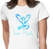 Go! Team Mystic! (Text) Womens Fitted T-Shirt