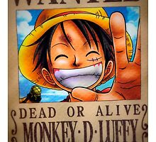 """Monkey D Luffy"" Dead or Alive by derBorja"