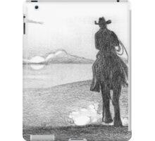 Real cowboys never die iPad Case/Skin