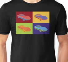 1975 Chevy Corvette Stingray Sports Car Pop Art. Unisex T-Shirt