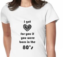 80's Child Womens Fitted T-Shirt