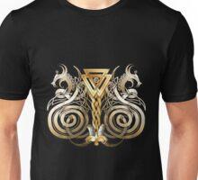 Norse Valknut Dragons  Unisex T-Shirt