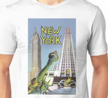 Vintage New York Travel  Unisex T-Shirt