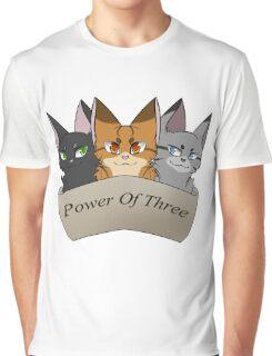 Power of Three Graphic T-Shirt
