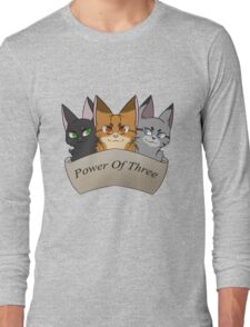 Power of Three Long Sleeve T-Shirt
