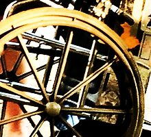 Decrepit looking Wheel Chair by SpoomyggeM