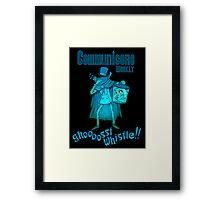 Ghost Whistle!  Framed Print