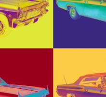 1965 Chevy Impala 327 Convertible Pop Art Sticker
