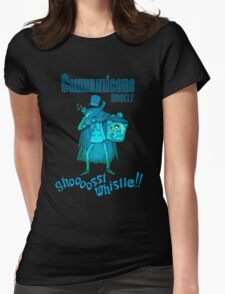 Ghost Whistle!  Womens Fitted T-Shirt