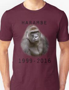 R.I.P Harambe (Black) Unisex T-Shirt