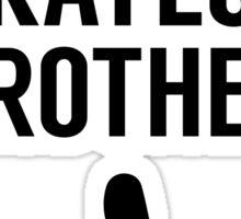 Worlds Okayest Brother Sticker