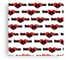 Koala Love #2 Pattern  Canvas Print