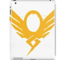 Hero's Never Die! - Mercy's Graffiti Logo iPad Case/Skin