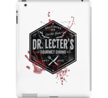 Dr Lecter's Gourmet Dining iPad Case/Skin