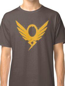 Hero's Never Die! - Mercy's Graffiti Logo Classic T-Shirt
