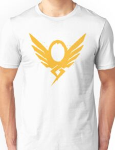 Hero's Never Die! - Mercy's Graffiti Logo Unisex T-Shirt