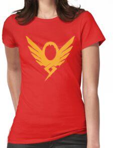 Hero's Never Die! - Mercy's Graffiti Logo Womens Fitted T-Shirt