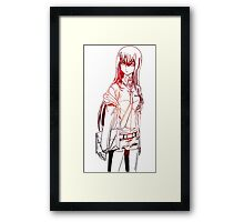 Makise Kyrisu Steins;Gate Framed Print
