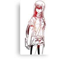 Makise Kyrisu Steins;Gate Canvas Print