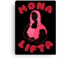 Mona Lifta Canvas Print