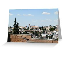 View from the Alhambra Greeting Card