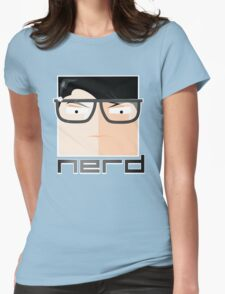 EMBRACE YOUR NERD Womens Fitted T-Shirt