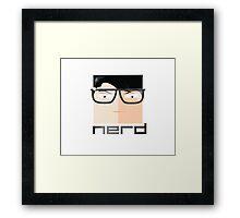 EMBRACE YOUR NERD Framed Print