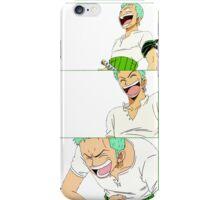 Laughing Zoro iPhone Case/Skin