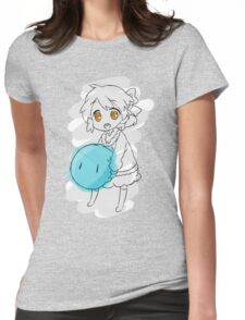Clannad: Ushio With Dango Womens Fitted T-Shirt
