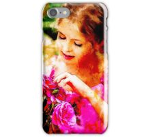 'Basket of Roses' iPhone Case/Skin